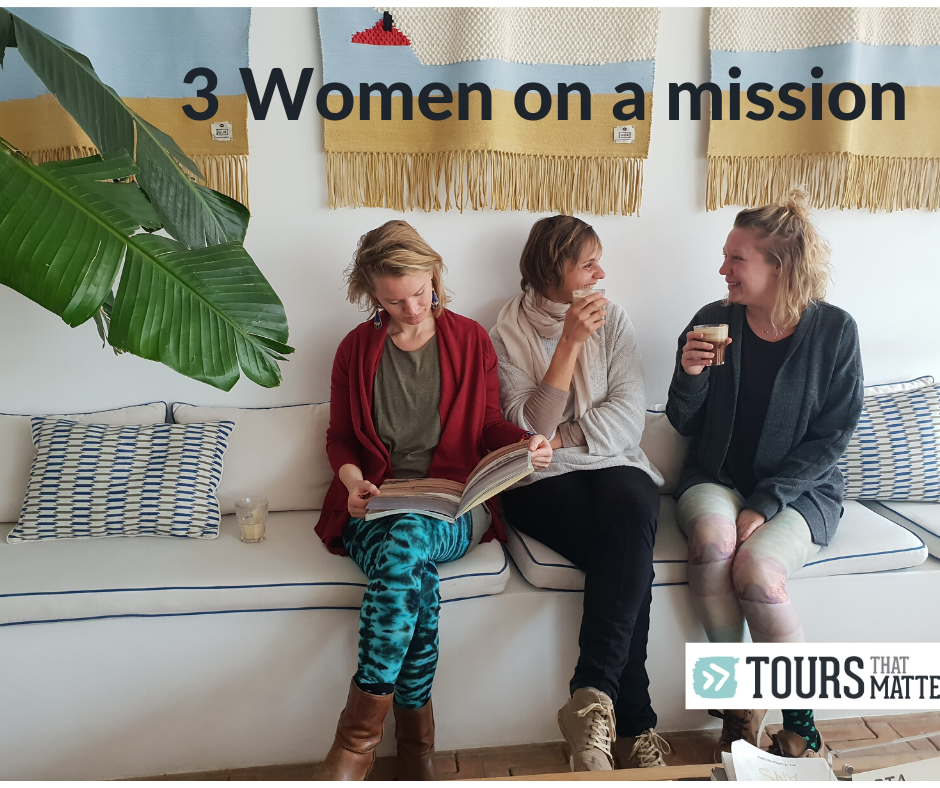 3 Women on a mission